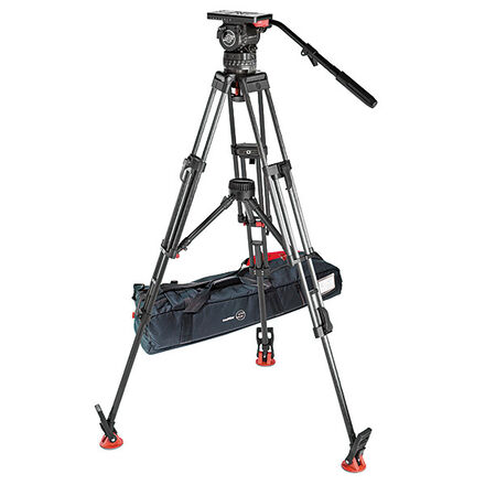 satchler tb 12 with carbon tripod (mid level spread)