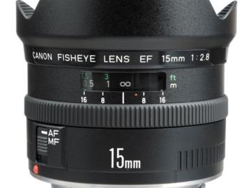 Canon Fish Eye 15mm 3.8