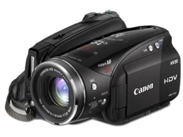 Rent: Canon Vixa HV30