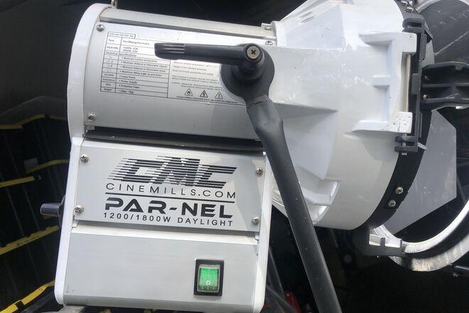2 CineMills Parnel 1800 Watt Daylight Lighting Package