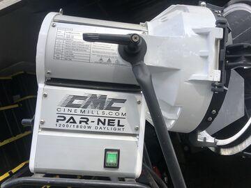 Rent: 2 CineMills Parnel 1800 Watt Daylight Lighting Package
