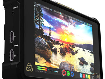 "Rent: Atomos Shogun Inferno 7"" 4K HDMI/Quad 3G-SDI/12G-SDI Recordi"