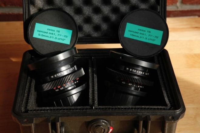 Zeiss Superspeed Mk1 9.5/16mm,  PL & Geared, 16mm format