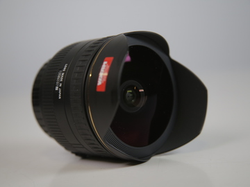 Rent: EF mount Sigma 15mm full frame fish eye lens f2.8