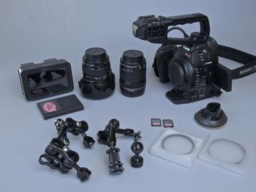 Rent: Canon C100 Bundle DAF / Ninja Blade + Lenses +