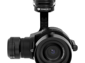 Rent: DJI Zenmuse X5 Camera and 3-Axis Gimbal with 15mm f/1.7 Lens