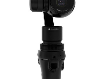 Rent: DJI Osmo Handheld 3-Axis Gimbal with Zenmuse X3 4K Camera