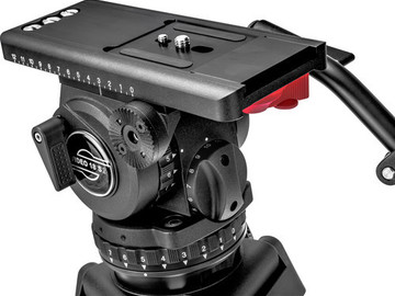 Rent: Sachtler Video 18 S2 Fluid Head and Manfrotto Legs