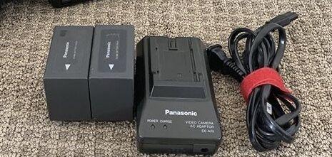Panasonic HPX170 3x Battery Package