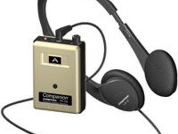 Rent: IFB System by COMTEK Companion 1 Xmitr, 6 Rcvrs,  Headsets