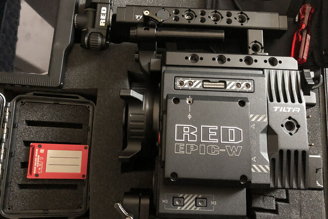 RED Epic-W Helium 8K S35 complete package