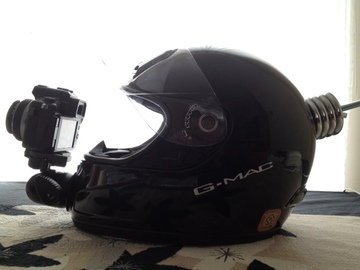 Helmet POV Camera Rig for DSLR