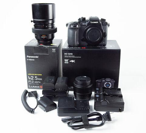 GH5 Package + 2x Lenses