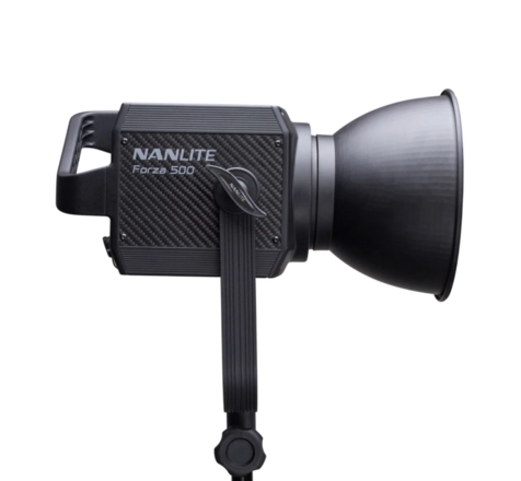 Nanlite Forza 500 with Aputure Softbox and Lantern