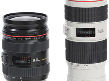 Rent: 70-200m/24-70mm/Manfrotto Tripod/Zoom Recorder/XLR Cable