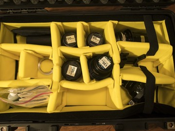 Iscorama 1.5x Anamorphic Lens Set w/ 50, 85, 105, 135, 200