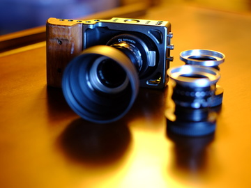 Rent: Black Magic Pocket camera + lenses