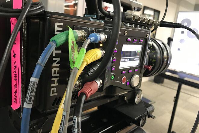 Phantom flex 4k  2x 2TB mags + DC lights package