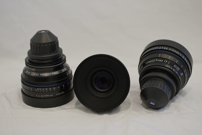 Ziess CP.2 Lens kit