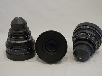Rent: Ziess CP.2 Lens kit
