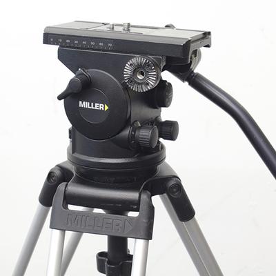 Miller Arrow 40 Fluid Head with Sprinter II 2 Stage Sticks