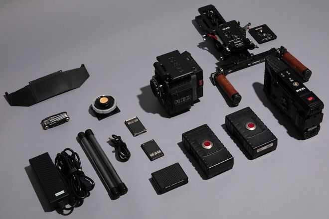 RED Scarlet-W Dragon - 5K Package