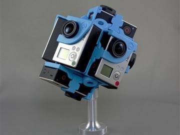 Rent: 360RIZE (360Heros) Pro7v2- 7 GoPro Hero 4 VR Rig