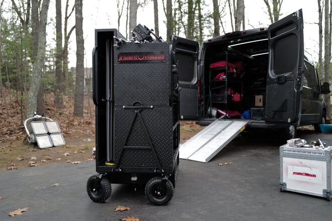 PRODUCTION Van with Gear! One stop shop