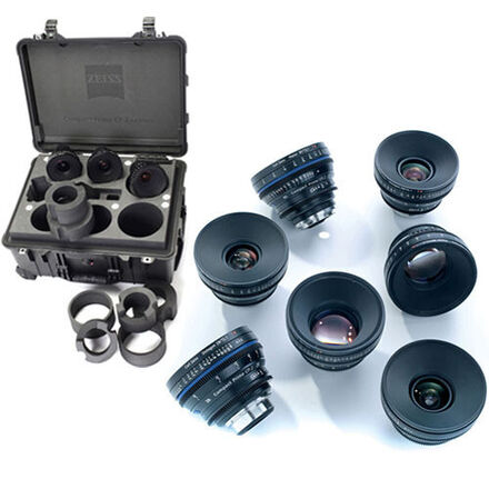 CARL Zeiss CP2 Lens Kit Low Price Interchangeable Mount Set