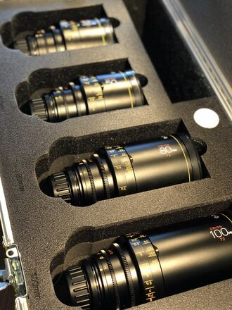 Atlas Lens Co. T2 Orion Series Custom four (4) Lens set