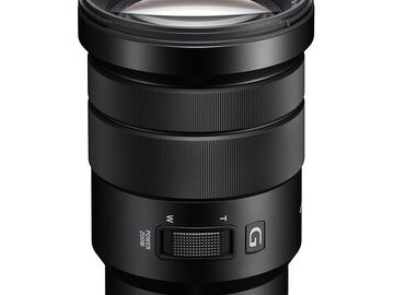 Rent: Sony PZ 18-105mm f/4 G OSS E mount, Filters
