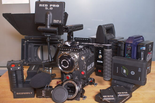 RED Epic Dragon 6K Full Package