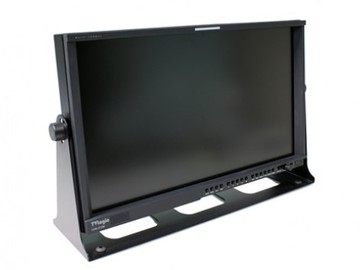 """Rent: TV Logic 21"""" LCD Monitor with stand and BNC Cable 2 of 2"""