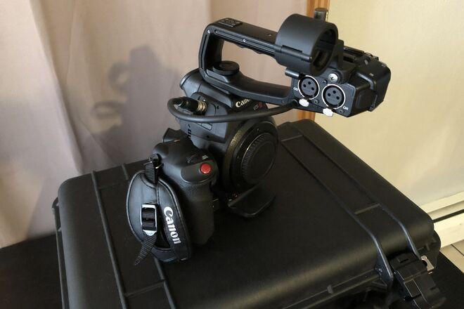 Canon EOS C100 w/ Dual Pixel Auto Focus DPAF
