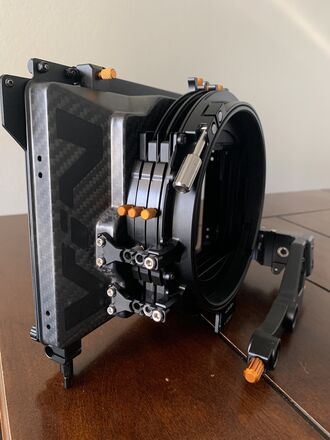 Bright Tangerine VIV 3-Stage Matte Box
