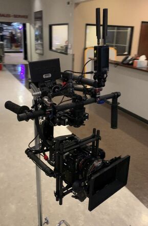 Freefly Systems MoVI M15 Gimbal Stabilizer W/Docking Arms