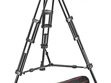 Rent: Manfrotto 502HD Fluid Head Tripod w/ 546 Legs