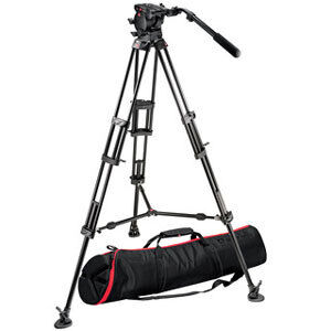 Manfrotto Mid Duty Head & Tripod