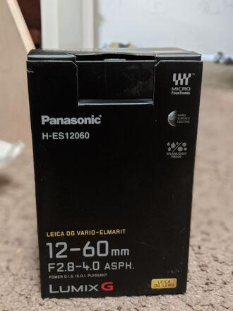 Lumix g 12-60mm