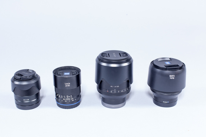 Sony E Mount Prime Lens Set