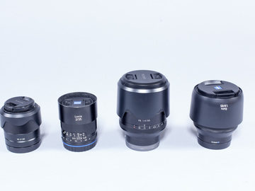 Rent: Sony E Mount Prime Lens Set