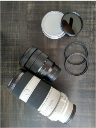 Sony Alpha a7S II Filmmaking KIT (Lenses, Cage, Filters...)