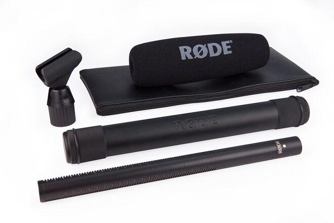 Rode NTG3 Shotgun Microphone + Boom Stand + XLR Cable
