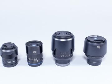 Sony E Mount Lens Kit