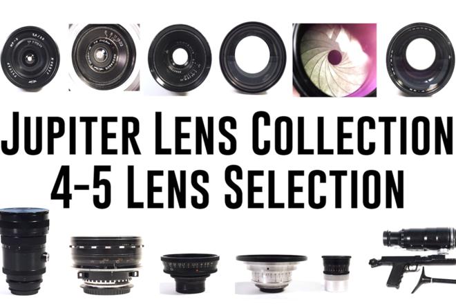 Jupiter Lens Collection in EF Sony Set 4-5 Lens Selection