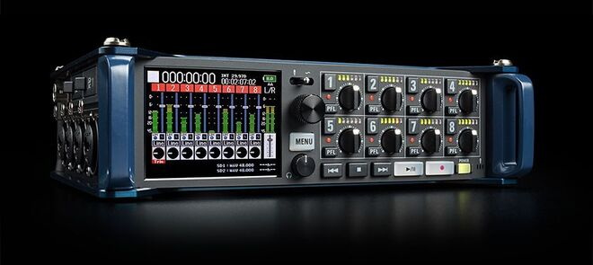 Zoom F8n Multi-Track Recorder