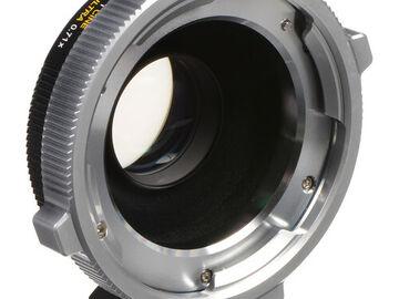 Rent: Metabones PL to MFT CINE Speed Booster Ultra 0.71x