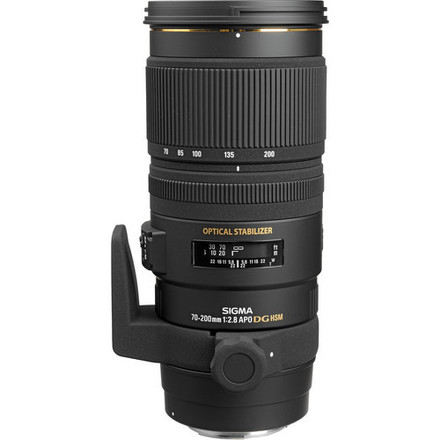 Sigma 70-200mm f/2.8 Lens WITH MANY FILTERS!!! VARIABLE ND