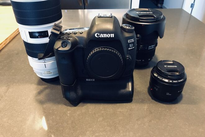Canon 5D Mark IV and Lenses
