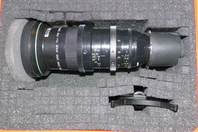 Canon 8-64mm T2.4 Super 16 Zoom